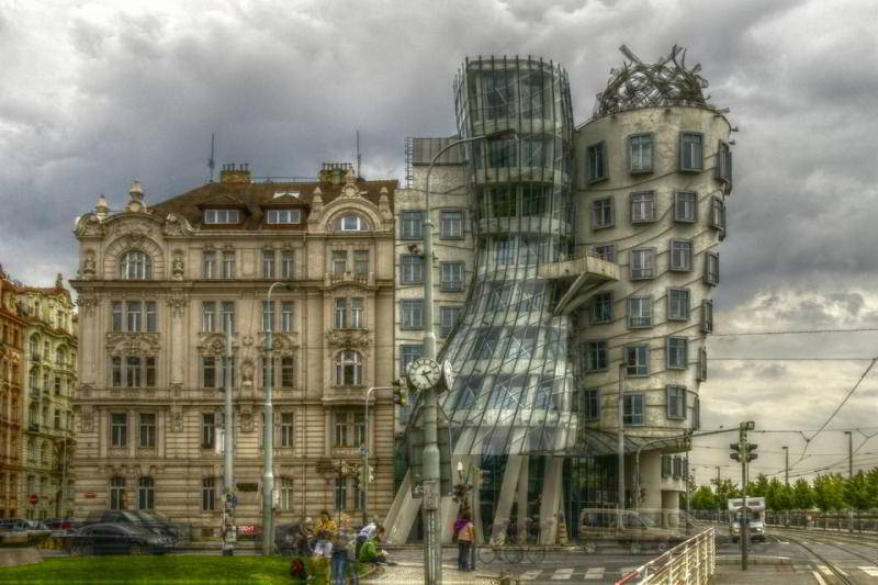 Prag - The Dancing House