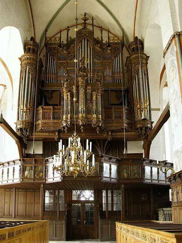 Lübeck - Orgel in der Jacobikirche