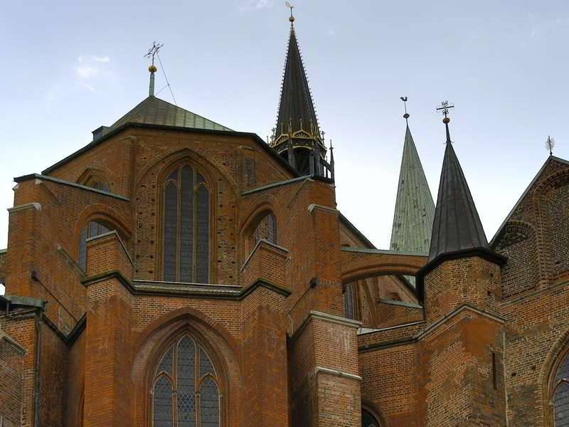 Backsteingotik in Lübeck - Marienkirche