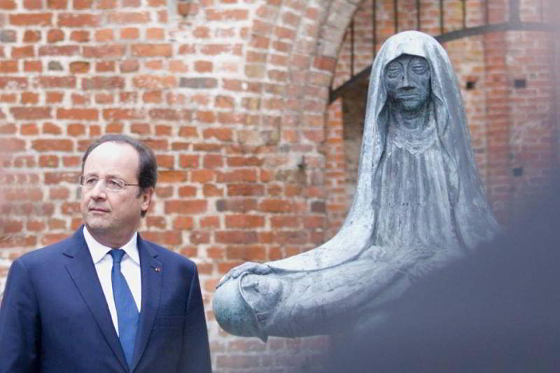 Francoise Hollande in Stralsund