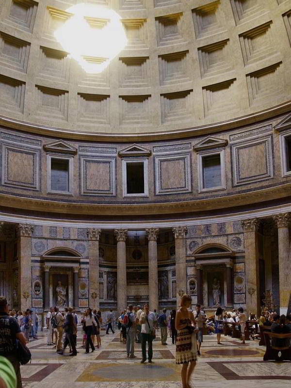 Pantheon in Rom - Innenansicht