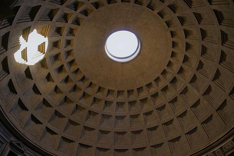 Kuppel des Pantheon in Rom