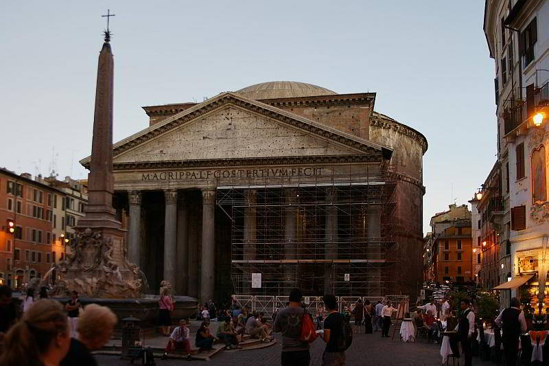 Pantheon in Rom am Abend